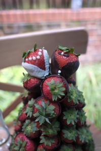 Strawberry tower