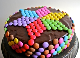 All-chocolate Easter cake