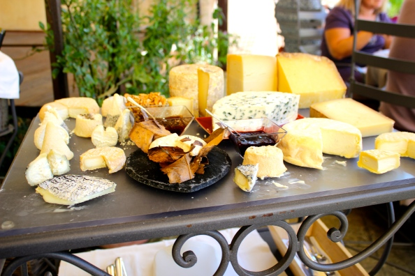 THE cheese trolley- my husband's paradise