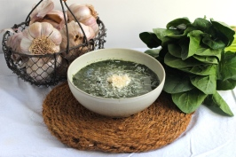 Spinach and Parmesan Soup